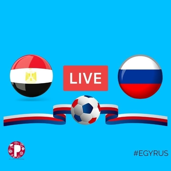 #RUSEGY: Live Stream Russia Vs Egypt (Watch Online Hd)