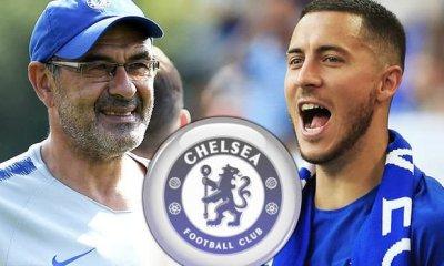 Eden Hazard Maurizio Sarri Chelsea captain 995367