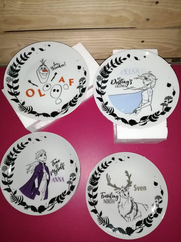 Frozen 2 hero plates