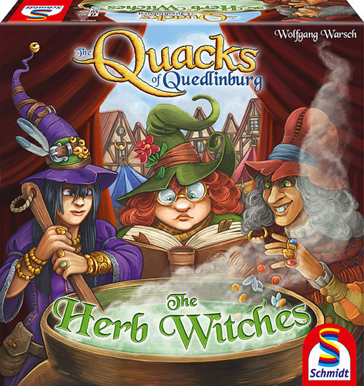 The Quacks of Quendlingburg - The Herb Witches