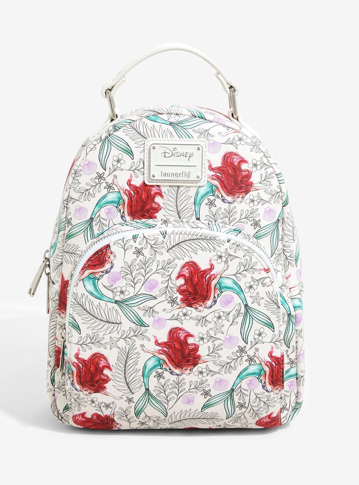 Loungefly Disney Little Mermaid Mini Backpack