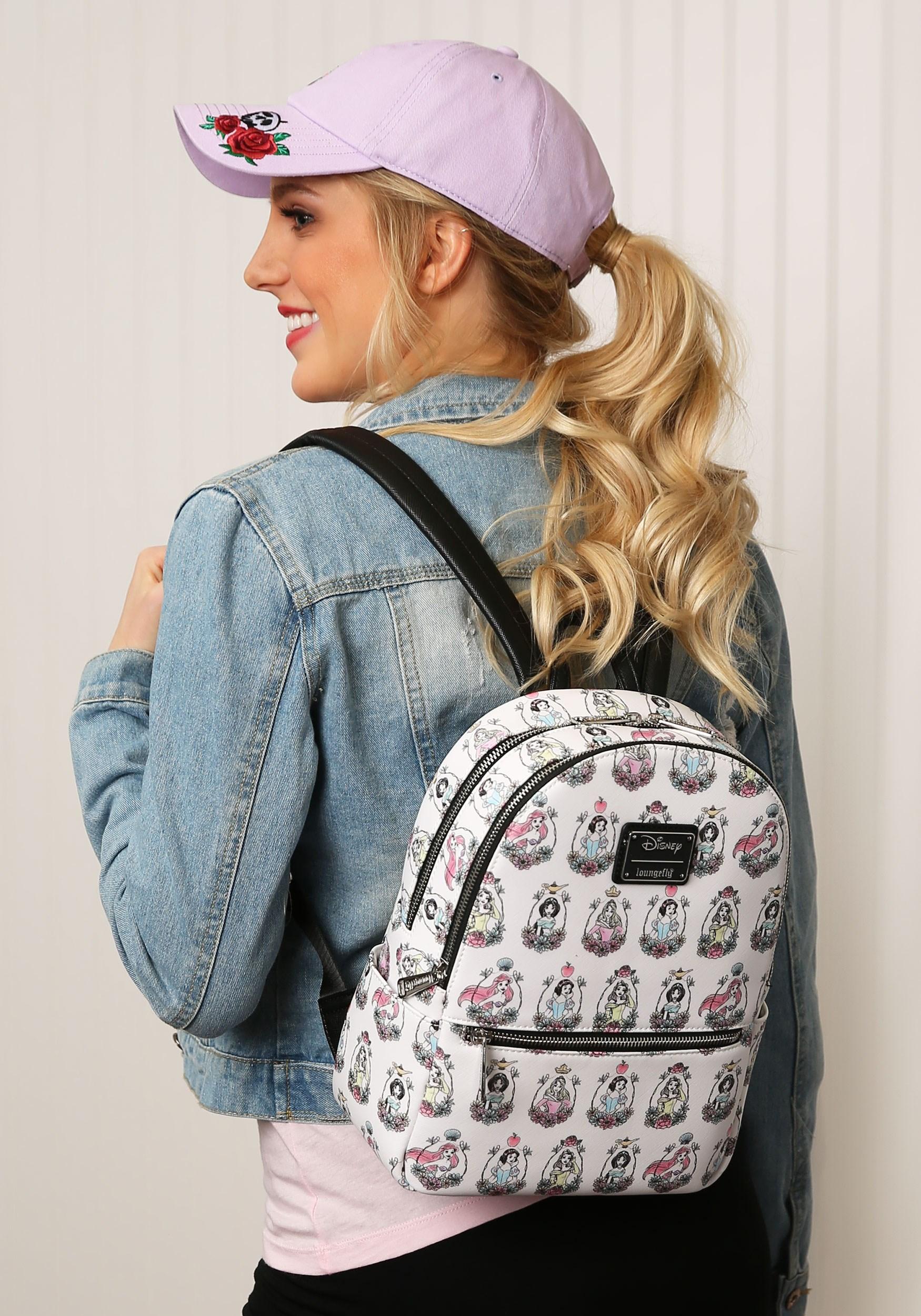 Loungefly Disney Princess Printed Mini Backpack