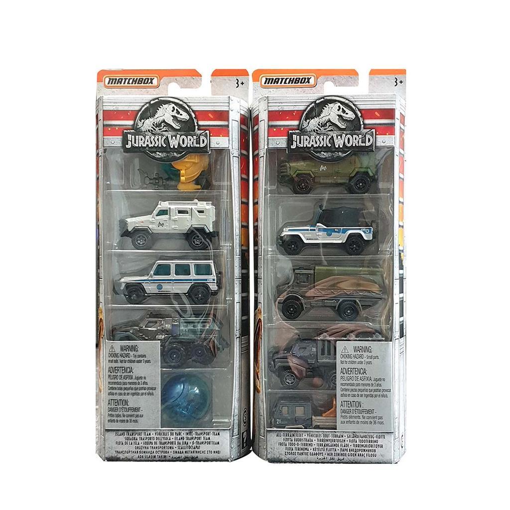 JURASSIC WORLD CAR SET