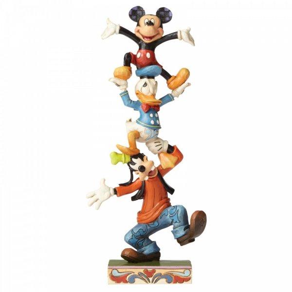 Teetering Tower - Disney (Goofy, Donald & Mickey)