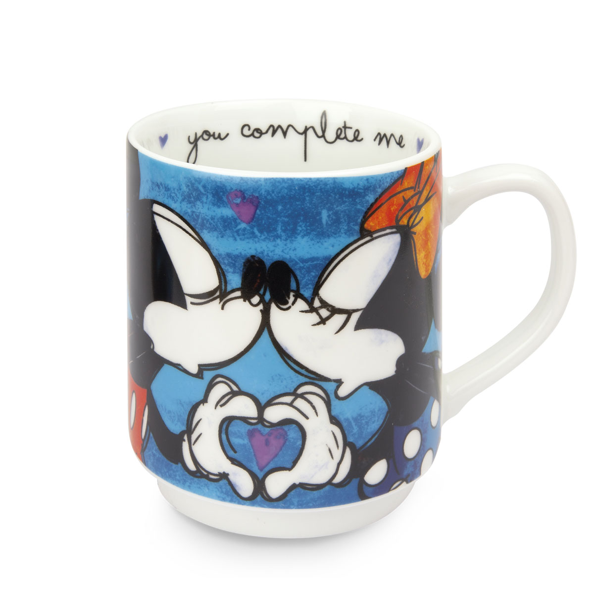 Stackable Mug Blue Mickey Mouse - Disney Home