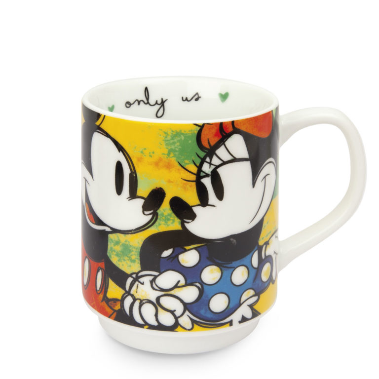 Stackable Mug Green Mickey Mouse