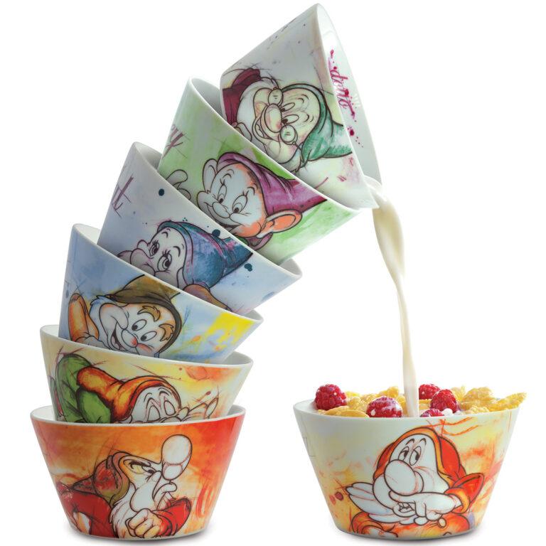 Bowl Sneezy 7 Dwarfs - Disney Home