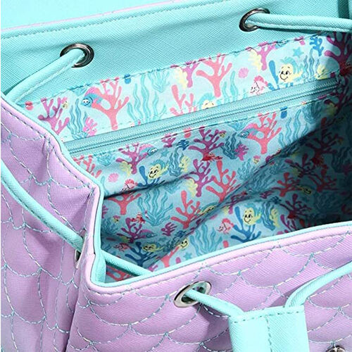 Little Mermaid Ombre Backpack Mini - Loungefly Disney