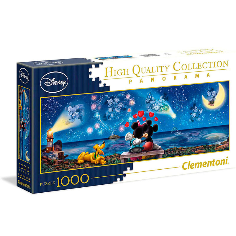 Mickey and Minnie Panorama