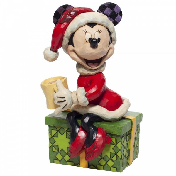 Minnie Mouse with Hot Chocolate Figurine