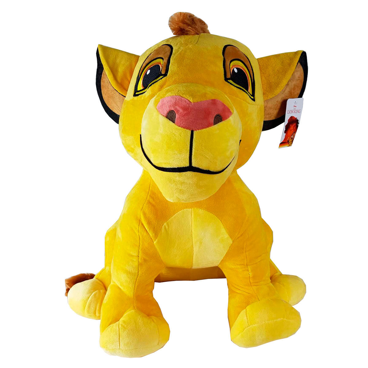 Giant plush Simba The Lion King Disney soft 58cm
