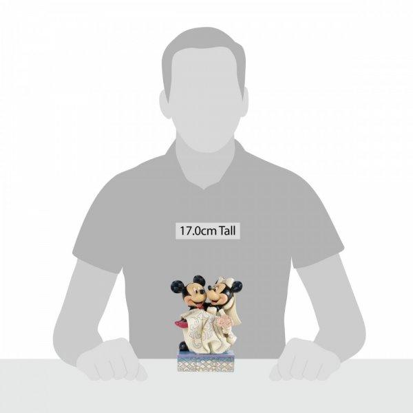 Congratulations - Mickey & Minnie Mouse Figurine