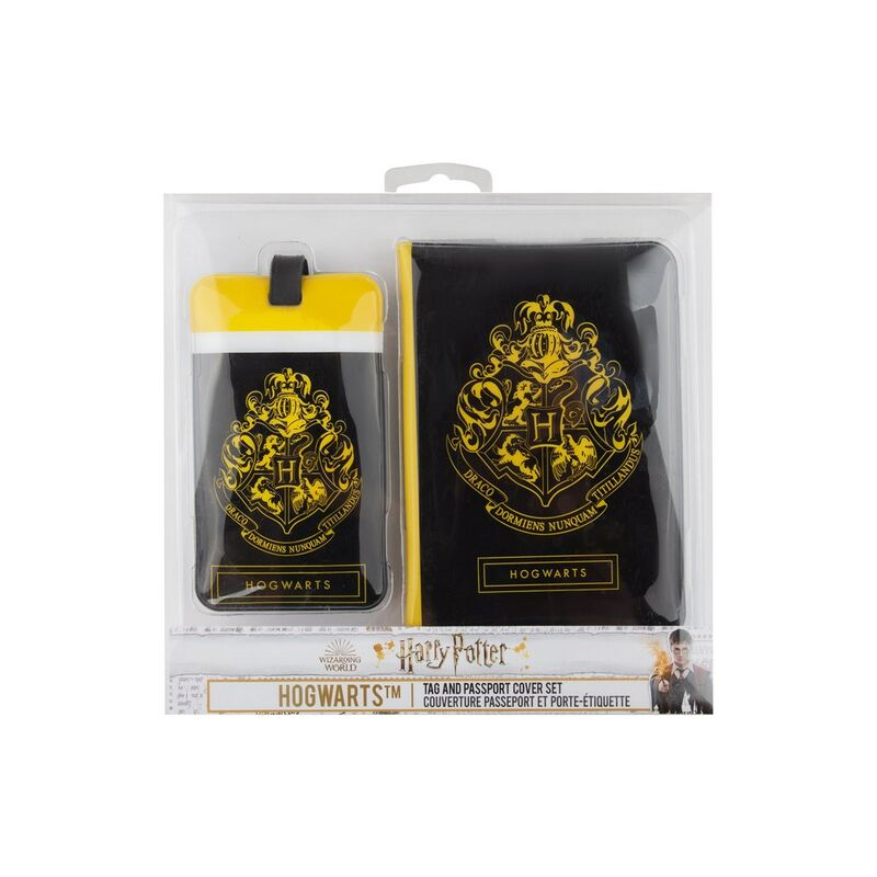 Hogwarts travel tags - luggage and passport cover