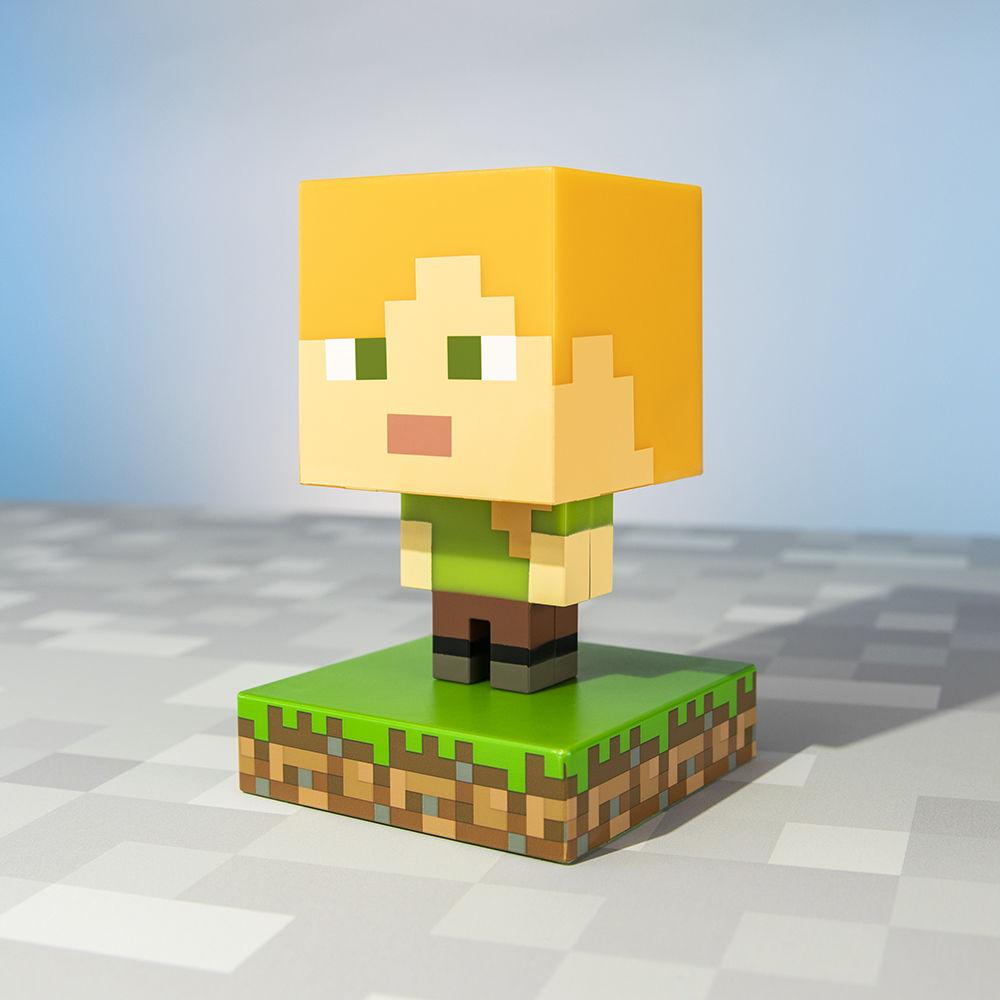 Mini Lamp Minecraft Alex Icon License