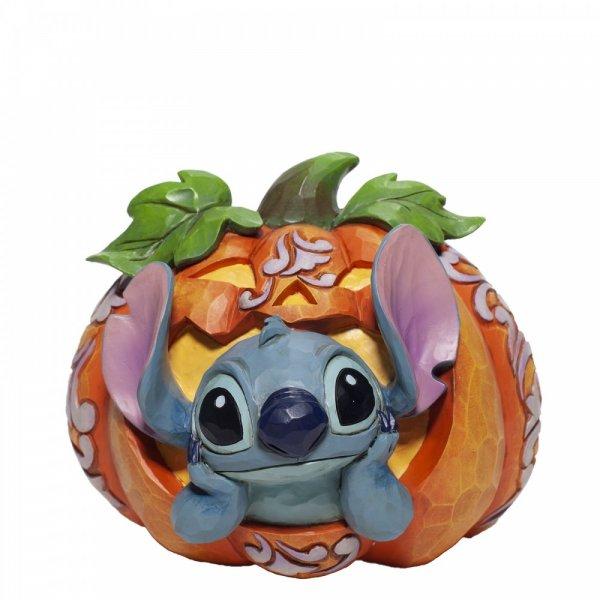 Stitch O'Lantern - Disney (Stitch inside Pumpkin Figurine)