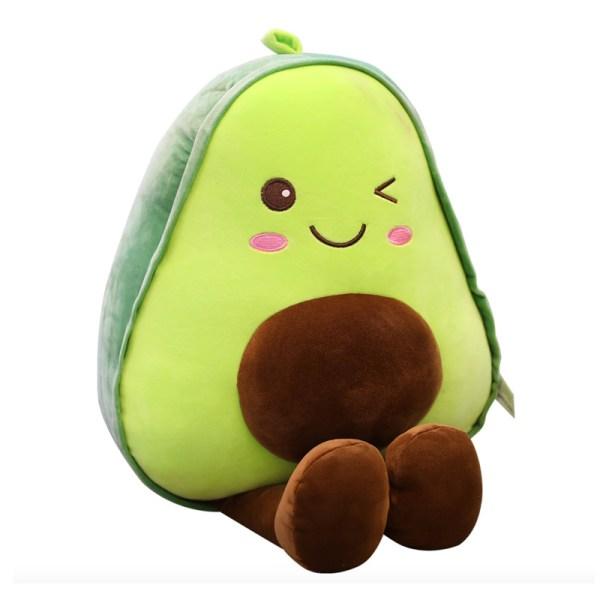 Stuffed Avocado Plushie Toy