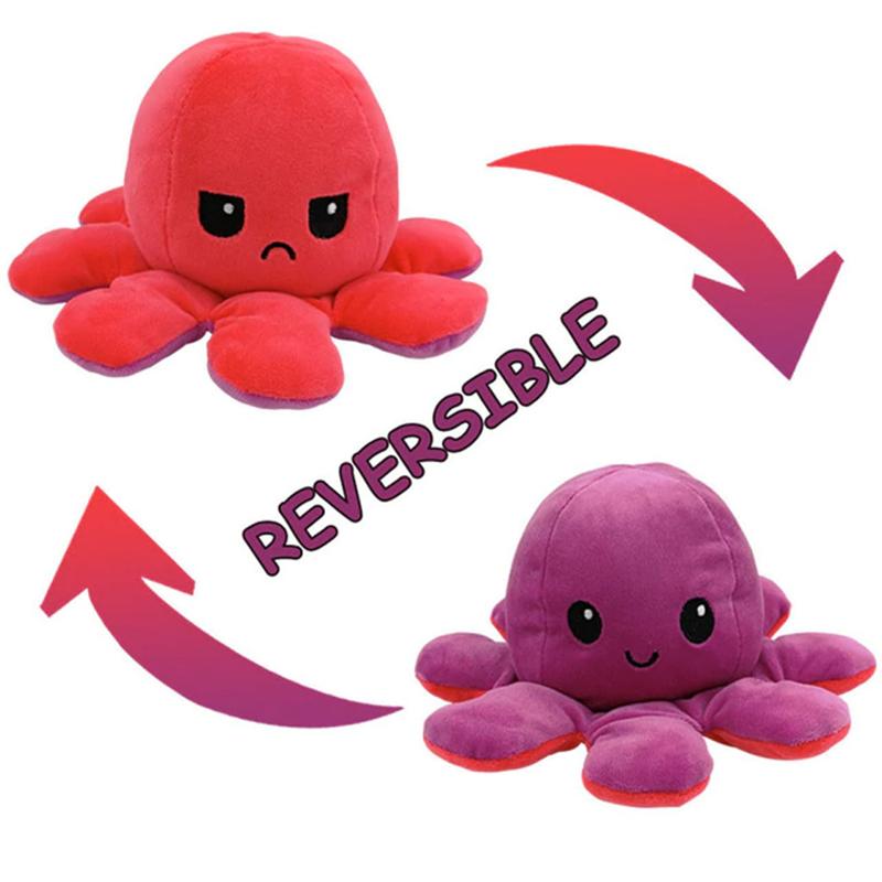 Pink & Purple Reversible Octopus