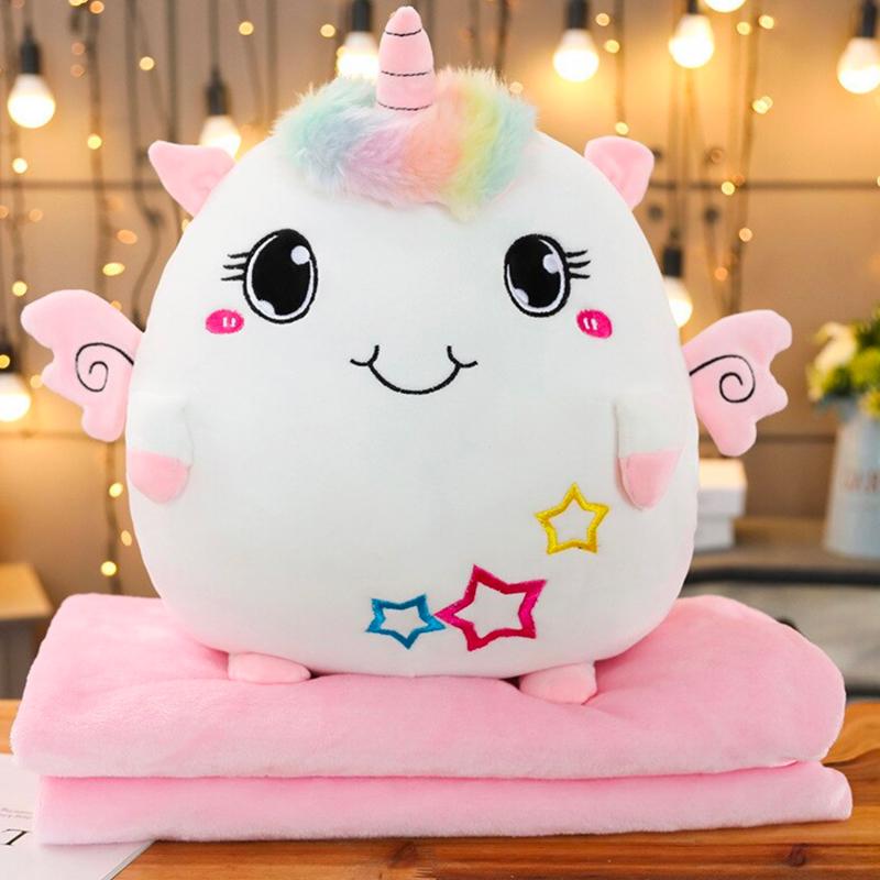Soft Kawaii Unicorn Plush