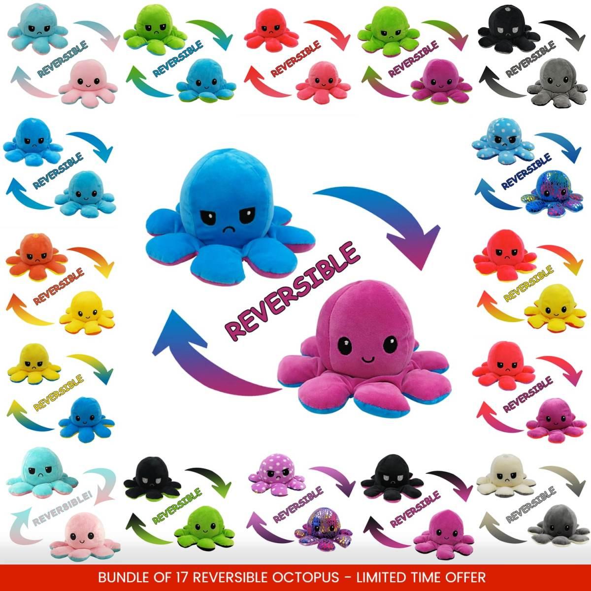 Reversible Mood Octopus
