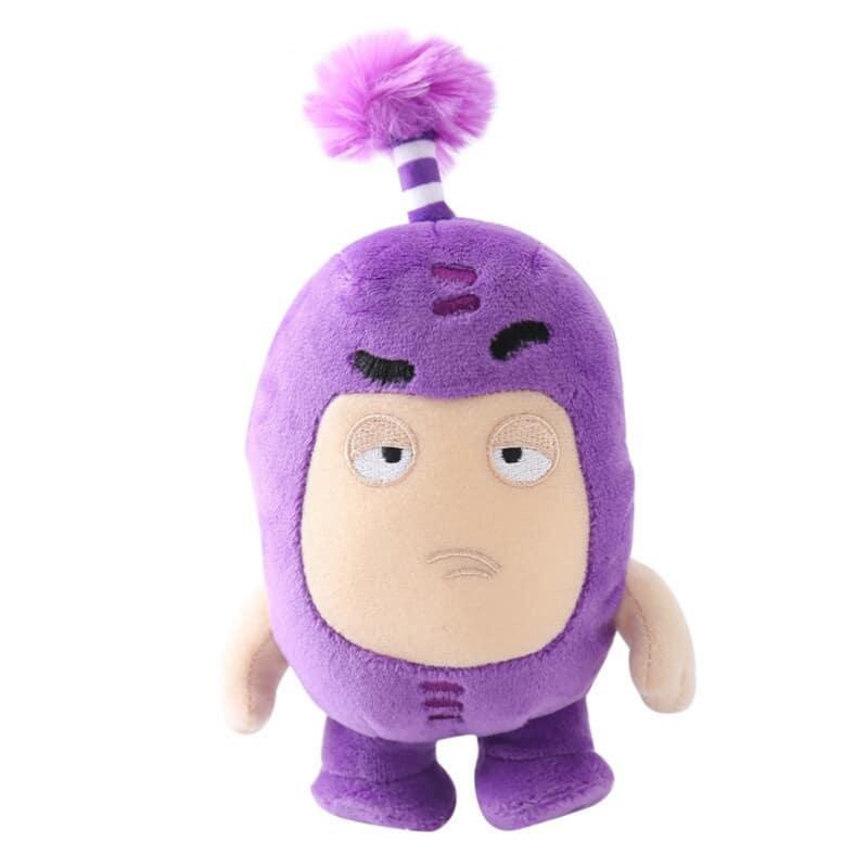 Stuffed Oddbods - Jeff Plush Toy
