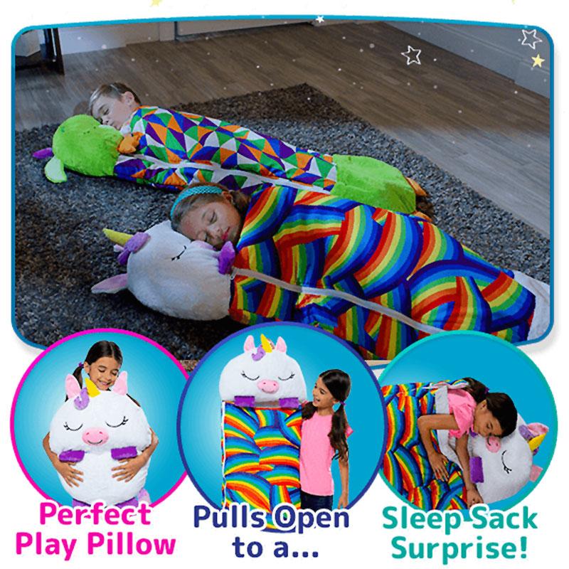 3 in 1 Sleeping Bag Plush Toy