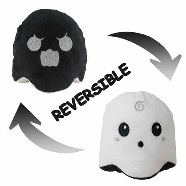 Reversible Mood Changing Ghost Plush Toys
