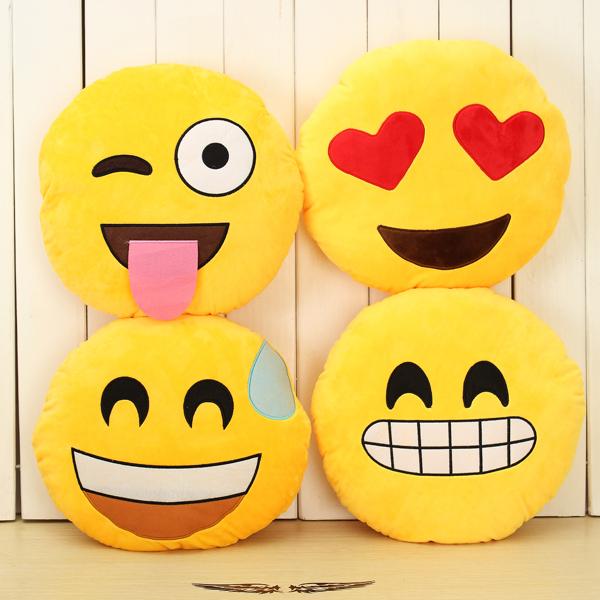 Super Emoji Plush Pillow Toys