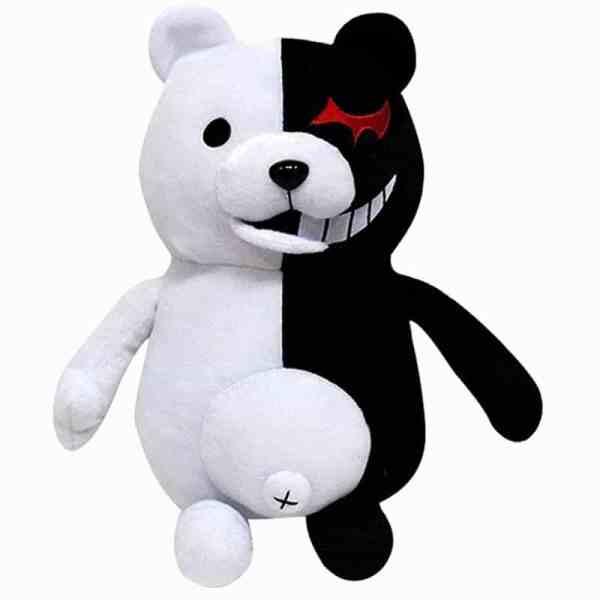 Stuffed Monokuma Plush - Bear Doll