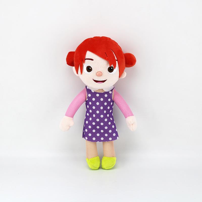 Stuffed Cocomelon Sister Plush Doll