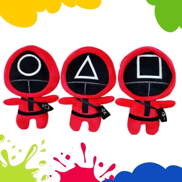 Red Squid Game Crewmate Doll