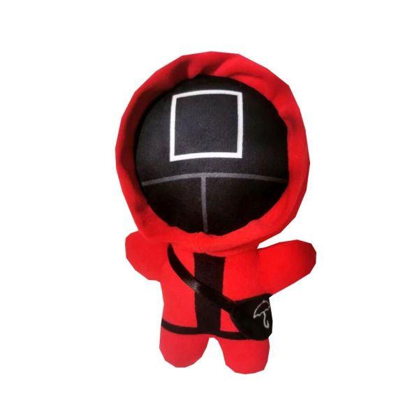 Triangle Squid Game Plush Doll- Red