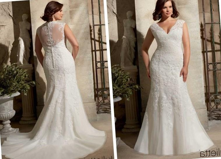 Plus Size Fall Wedding Dresses & Bridal Gowns 2019