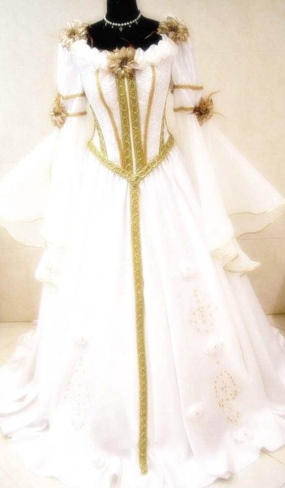 Plus Size Medieval Wedding Dresses PlusLookeu Collection