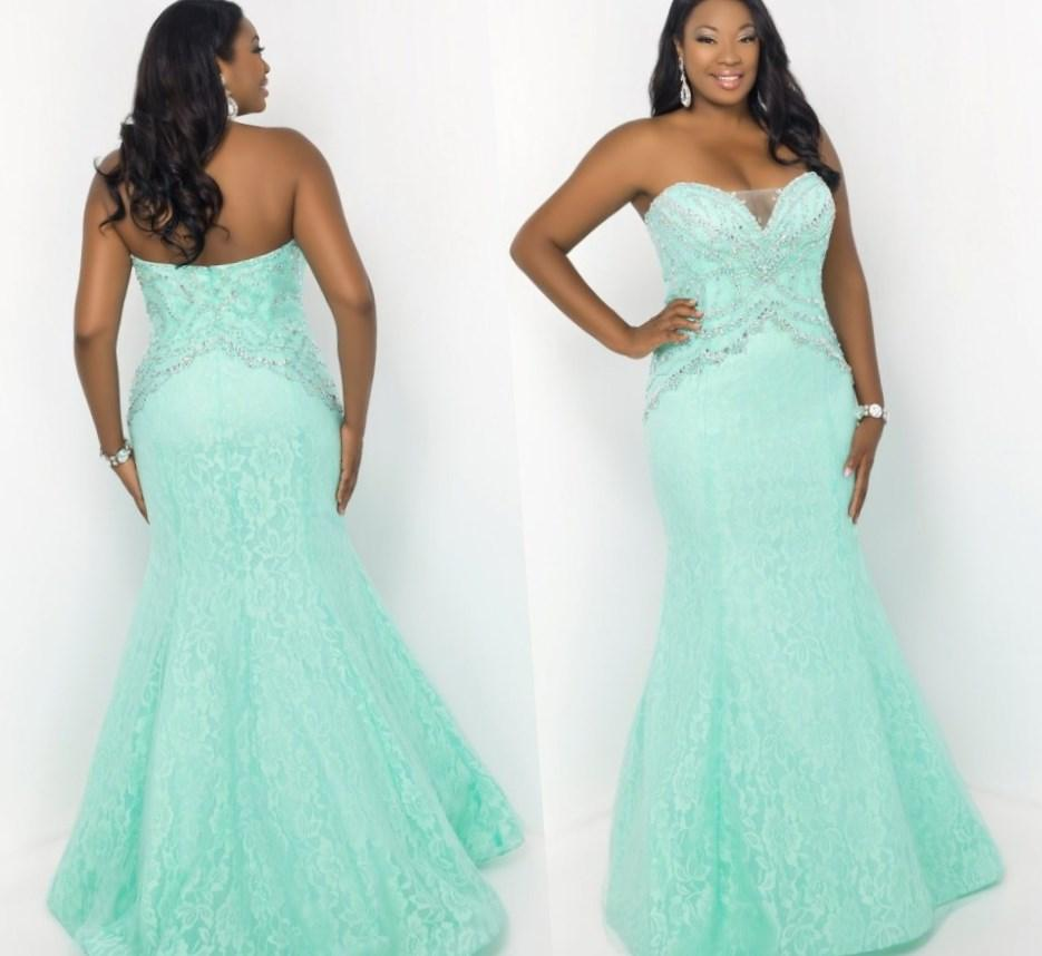 Sexy Plus Size Formal Dresses PlusLookeu Collection