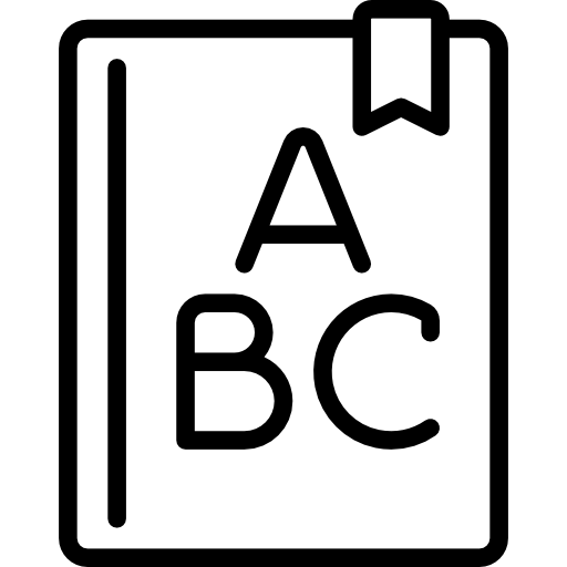 Abcs PNG Black And White Transparent Abcs Black And White ... (512 x 512 Pixel)
