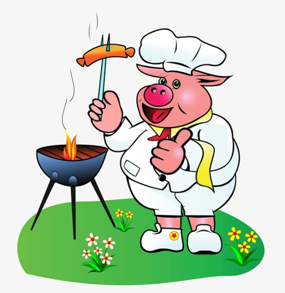 Barbecue Pig PNG Transparent Barbecue Pig.PNG Images ... (584 x 600 Pixel)