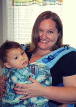 Plus Size Babywearing carriers Gracie and Sam