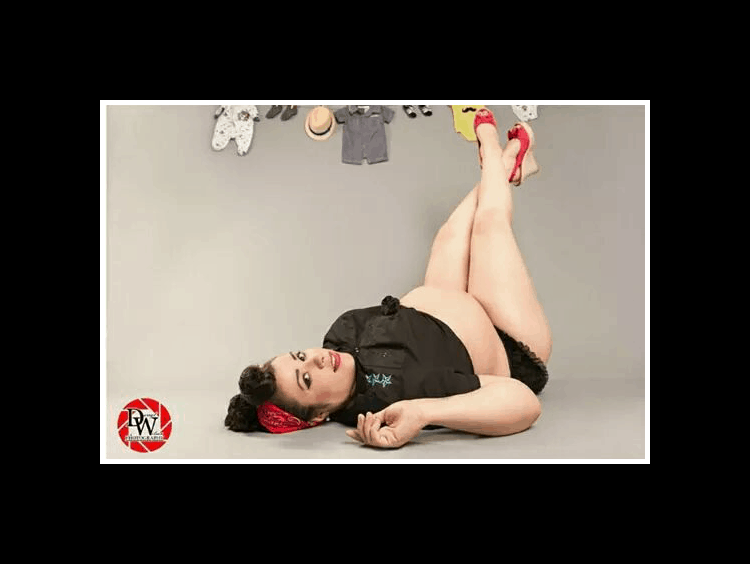Plus Size Pinup Maternity Photos You Have to See!