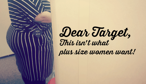 New Target Plus Size Clothing Line Disaster