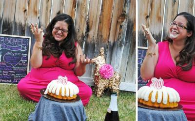 An Adult Smash Cake Photo Shoot & Body Love Story