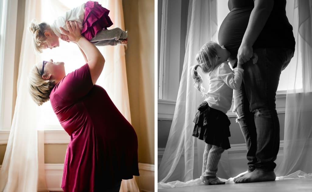 Plus Size Maternity Photos