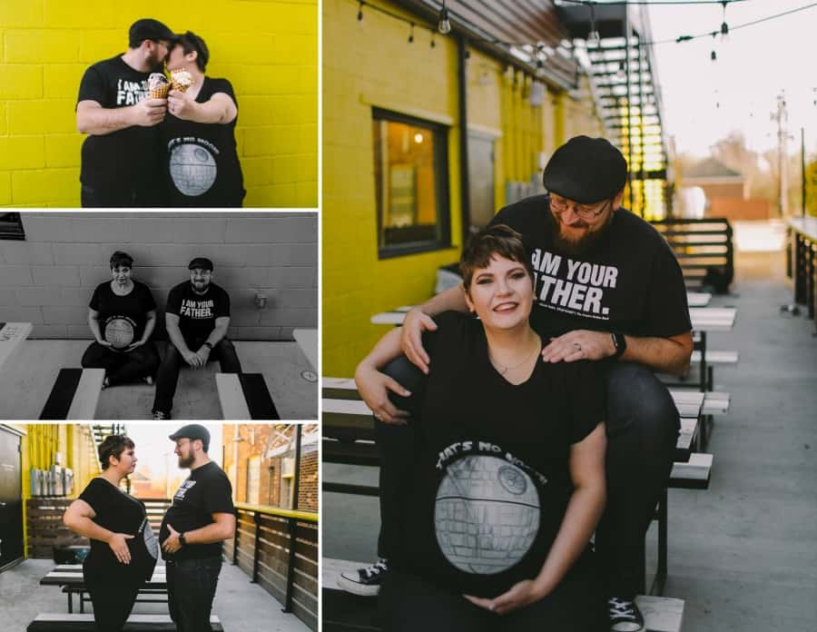 Star Wars Maternity Photography