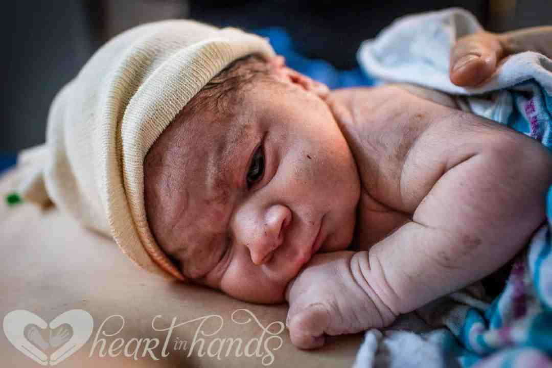 plus size birth center birth story