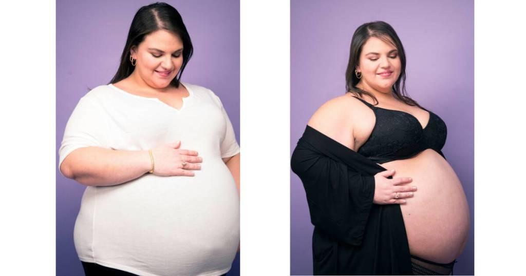Plus-Size Pregnant & Proud