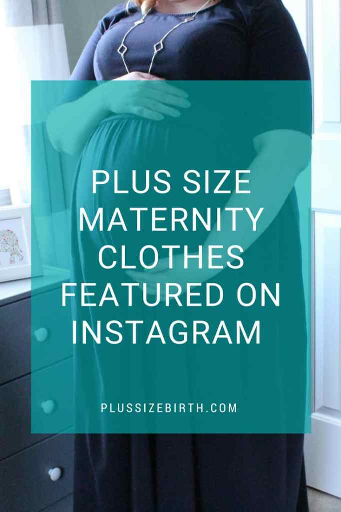 Plus Size Maternity Clothes on Instagram