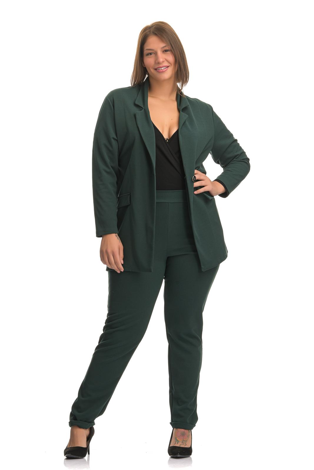 Blazer μεγάλα μεγέθη μαύρο με δέσιμο στα μανίκια και ζωνάκι.Στο eshop μας θα βρείτε οικονομικά γυναίκεια ρούχα σε μεγάλα μεγέθη και υπερμεγέθη.
