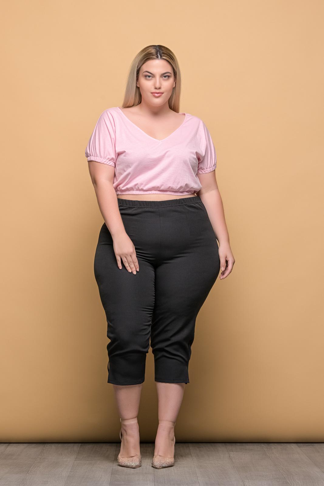 Ανορθωτικό παντελόνι μεγάλα μεγέθη κάπρι ελαστικό.Στο eshop μας θα βρείτε οικονομικά γυναίκεια ρούχα σε μεγάλα μεγέθη και υπερμεγέθη.