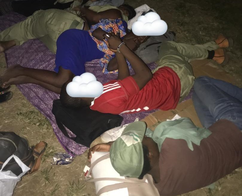 Ad-hoc Corps members revolt for the harsh conditions and neglect by INEC