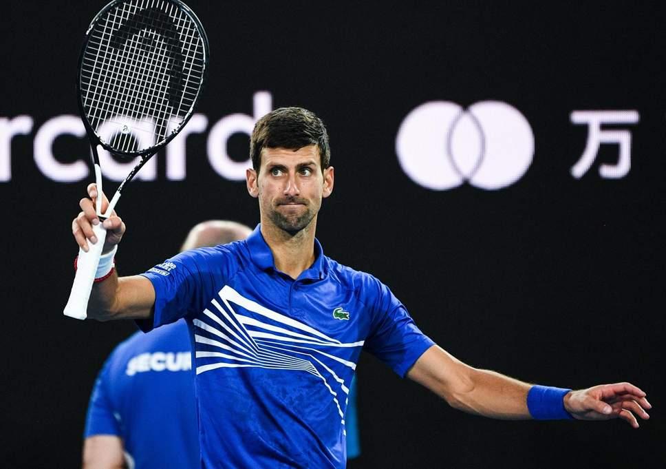 Djokovic through to semi-finals after Nishikori retires