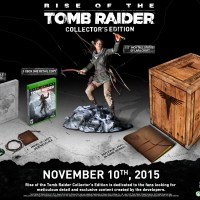 Collector's Edition For 'Rise of the Tomb Raider' Announced